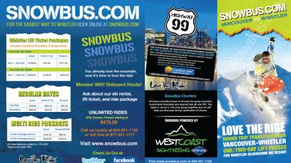 SnowBus Brochure