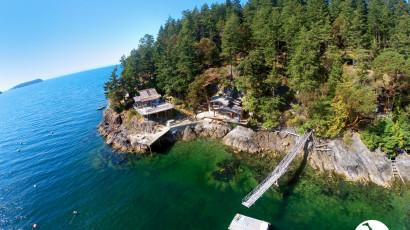 Real Estate Drone Video – Keats Island