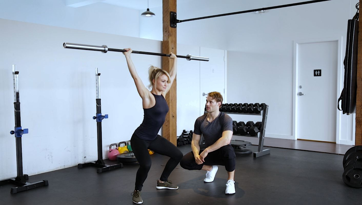 fitness instructional video