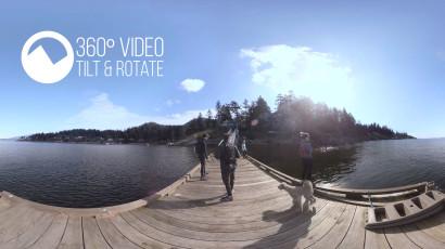 360 Video Hiking Mount Gardner