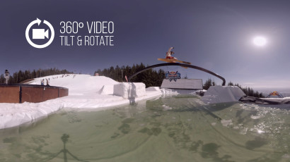 Red Bull Slope Soakers in 360!