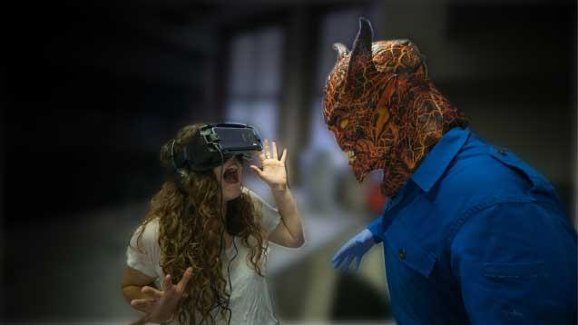 VR pop-up Theatre Vancovuer