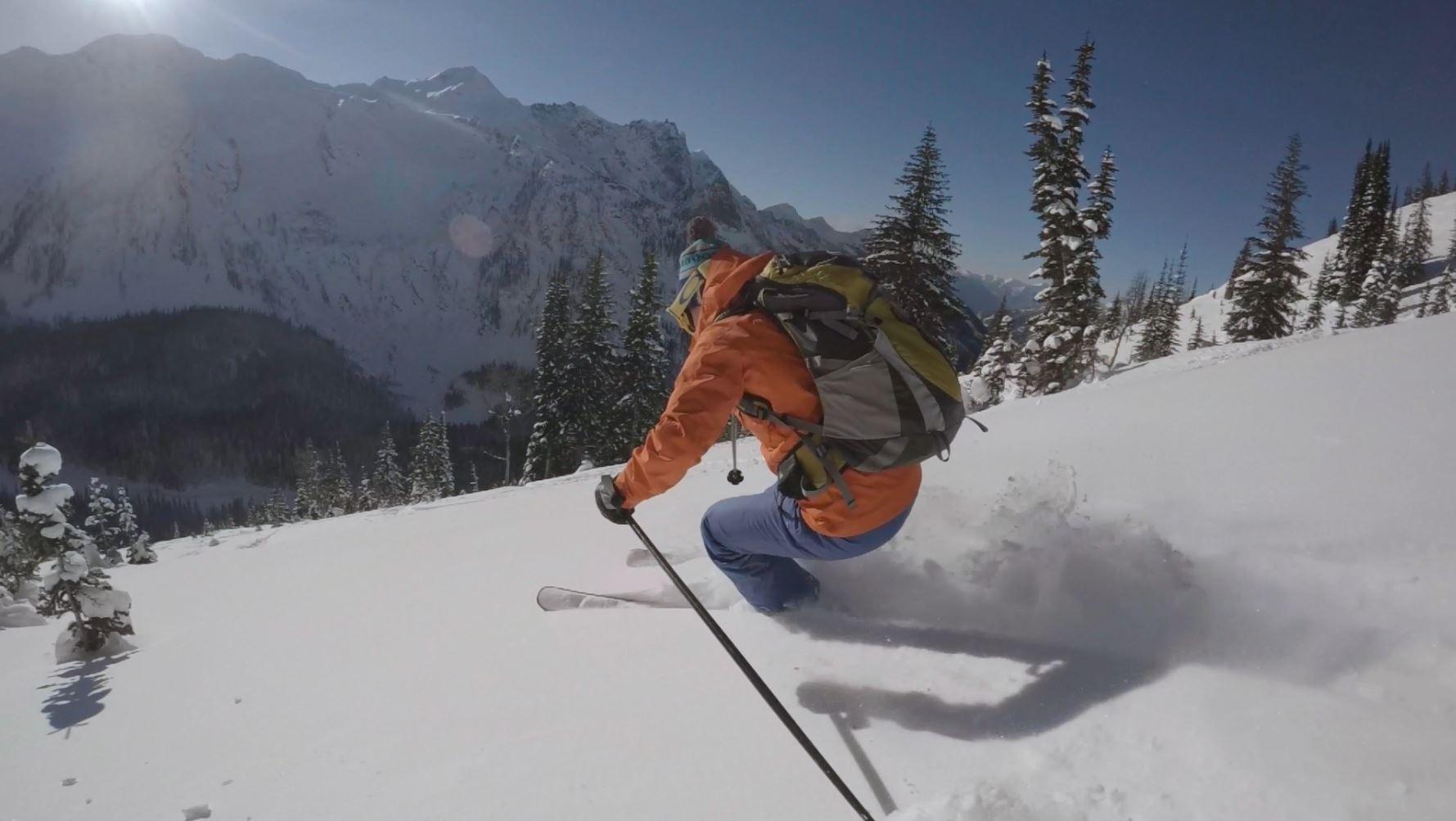 backcountry ski lodge